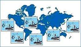 Международный флот для очищения океанов.